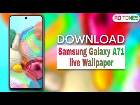 Samsung Galaxy A71 Live Wallpaper With Download Link Youtube