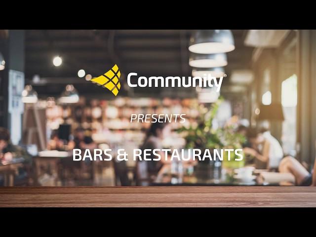 Community Presents Bars & Restaurants