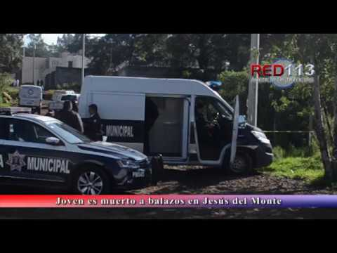 VIDEO Joven es muerto a balazos en Jesús del Monte