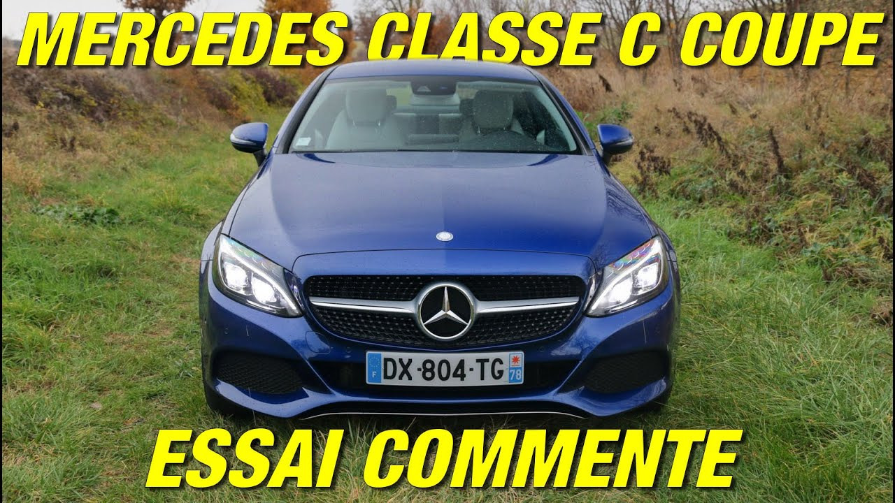essai mercedes classe c coup en diesel ou en essence youtube. Black Bedroom Furniture Sets. Home Design Ideas