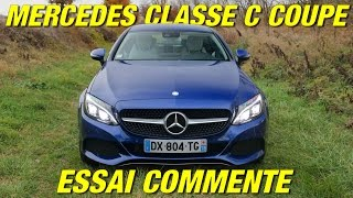 Essai Mercedes Classe C Coupé / En diesel ou en essence ?