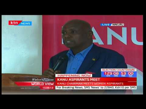 Gideon Moi Addresses KANU Women Aspirants In Nakuru