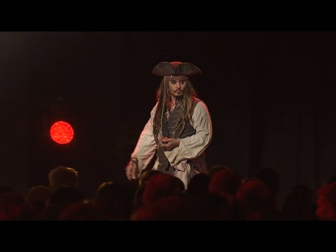 Johnny Depp as Jack Sparrow | Live Action Presentation | 2015 D23 Expo