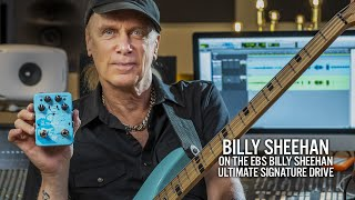 Billy Sheehan on his Ultimate Signature Drive pedal by EBS