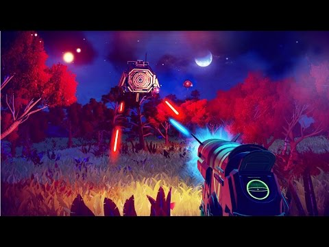 No Man's Sky Gameplay 17 Minutes of 1080p 60FPS Gameplay