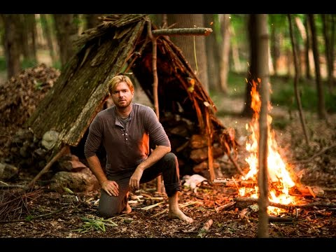 Solo Survival part 2: How to Survive Alone in the Wilderness for 1 week --Eastern Woodlands