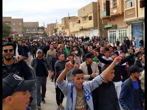 المسيرة السلمية بالجلفة في 08 مارس 2019 ضد العهدة الخامسة