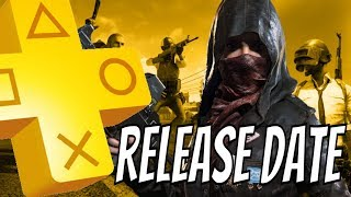 "PUBG PS4 RELEASE DATE December  ""INCENTIVE For PS PLUS December 2018?"""
