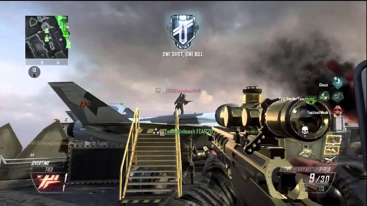 Black Ops 2 - Best Sniping Round of Demolition