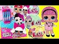 LOL Surprise Dolls Activity Book And Series 1 2 3 Surprise Ball Madame Queen Opening mp3