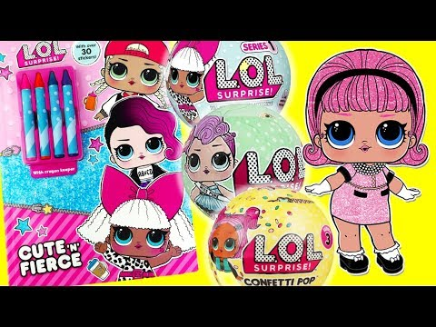 lol-surprise-dolls-activity-book-and-series-1-2-3-surprise-ball-madame-queen-opening