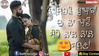 Download video 👇👇 Guzarisha || Punjabi Romantic Whatsapp Status 2018 || Punjabi Tashan