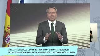 ¡BRUTAL! Vicente Vallés pone al gobierno en el disparadero