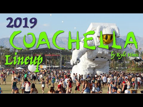 Top 10 Artists of the 2019 Coachella Art and Music Festival!
