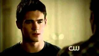 The Vampire Diaries 3x01 - Matt and Jeremy -  What happened in the car