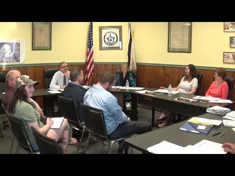 Champlain Village Board Meeting  5-6-19