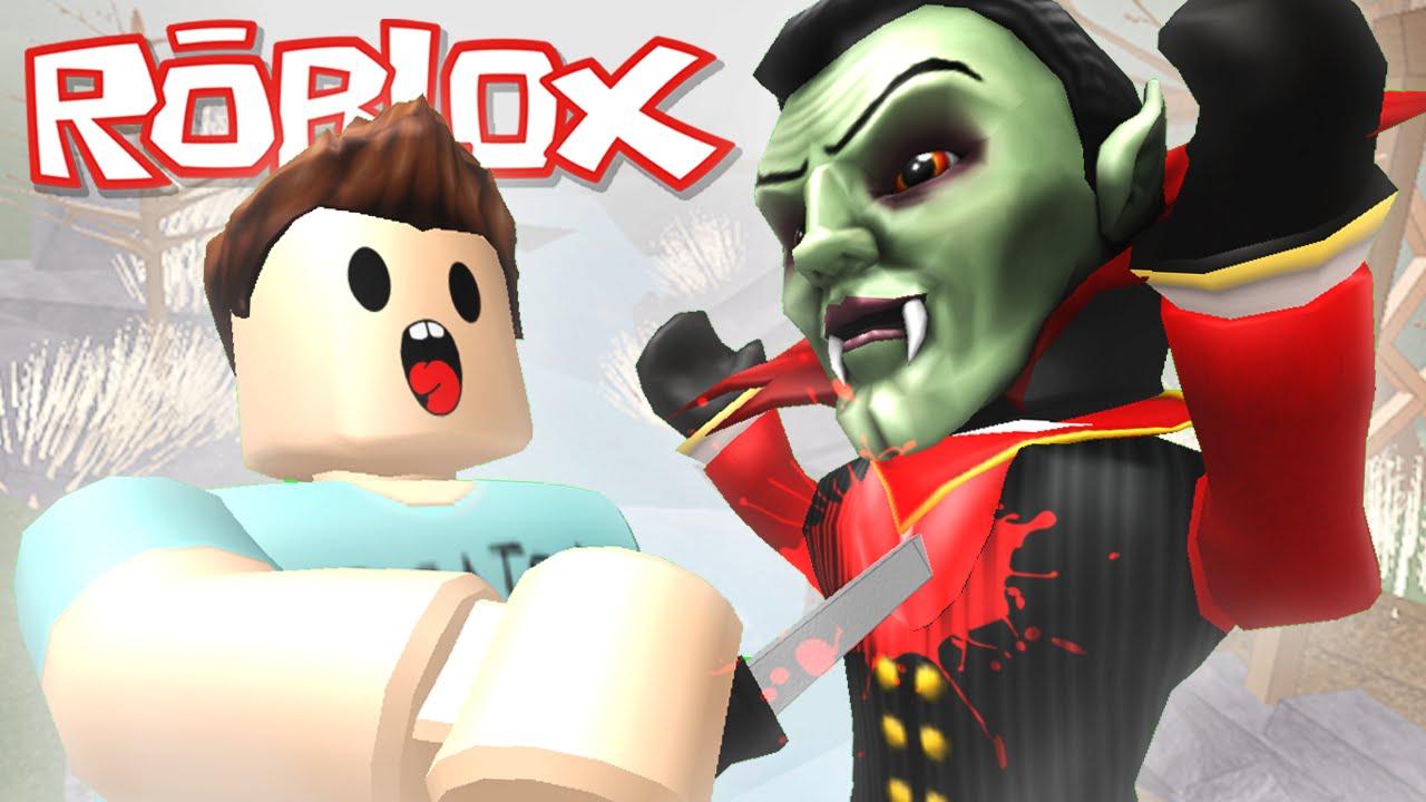 Roblox Adventures Murder Mystery 2 Evil Vampire Killers Youtube