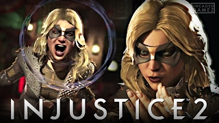 Injustice 2 - 80% BLACK CANARY COMBO?! (Online Beta)