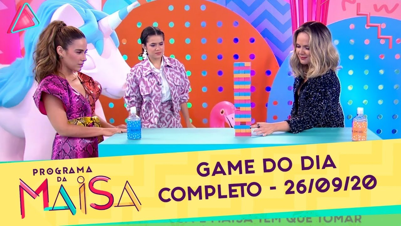 Game do Dia | Programa da Maisa (26/09/20)