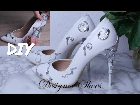 DIY DESIGNER SHOES / RALPH AND RUSSO EDEN PUMPS / POLYMER CLAY