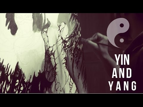 YIN & YANG | Painting | Timelapse