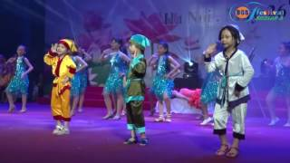 """Dancesport: """"Nàng Bạch Tuyết và Bảy chú lùn"""" - Festival Bill Gates Schools - Season 5 (2016 - 2017)"""