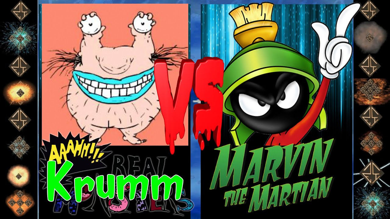 Download Krumm (Aaahh!!! Real Monsters) vs Marvin the Martin (Looney Tunes) - Ultimate Mugen Fight 2016