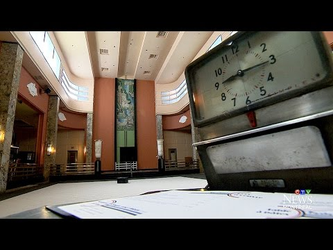 Exclusive tour: Inside Montreal building's long-empty 9th floor