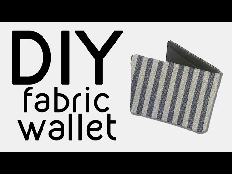 Making my Fiancé a Wallet from Scraps | MAKE THRIFT BUY #65!