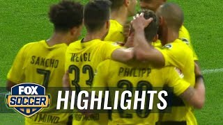 Borussia Dortmund vs. Bayer Leverkusen | 2017-18 Bundesliga Highlights