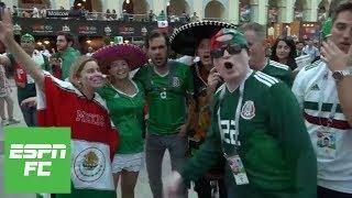 Mexican fans go wild as South Korea scores key goal vs. Germany   ESPN FC