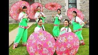 客家花布傘舞 Taiwan Hakka Fabric Umbrella Dance
