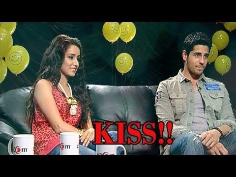 Ek VILLAIN Movie : KISSING SCENE Between Shraddha Kapoor And Siddharth Malhotra