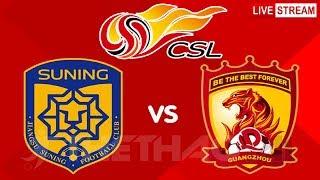 Jiangsu Suning vs Guangzhou Ev…