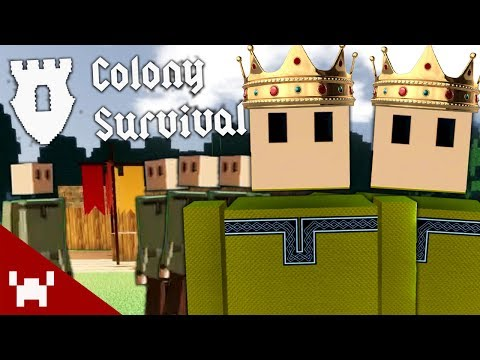 MINECRAFT WITH SLAVERY! (Colony Survival w/ Ze & Chilled #1)