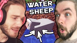 We Found WATER SHEEP In Minecraft w/pewdiepie