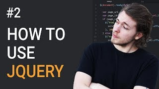 2: How to add jQuery to your website | Learn jQuery | jQuery tutorial