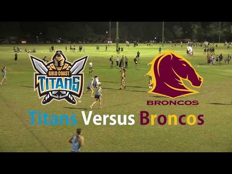 Season 4 - Round 8 - Inferno Super Series Women's - Titans Versus Broncos