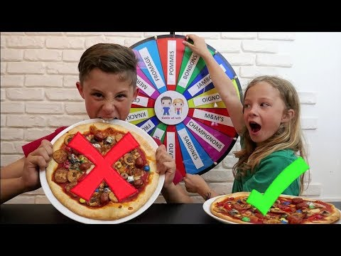 MYSTERY WHEEL OF PIZZA CHALLENGE : C'est n'importe quoi!!!