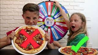 mystery wheel of pizza challenge cest nimporte quoi