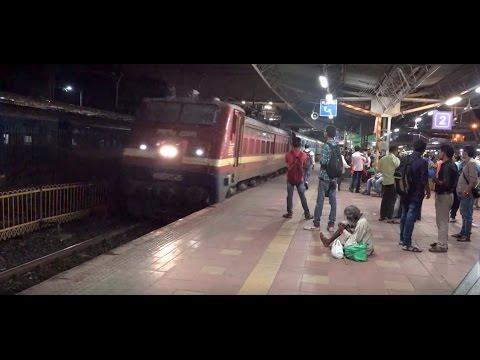 Superfast Mumbai Central Vadodara Express Gets Clear Preferential Announcement at Dadar, Mumbai