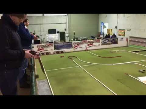 Team X-Ray out for practice at the Dublin Model Car Club