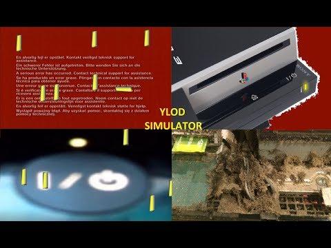 PS3 All Errors! (so many YLODs)