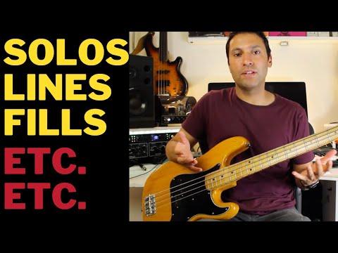Bass Guitar Tutorial: