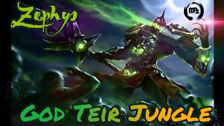Zephys God teir Jungle - Arena of Valor #godteir