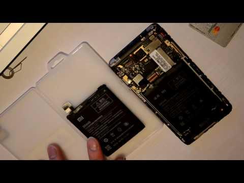 Замена аккумулятора в Xiaomi Redmi Note 3 Pro.