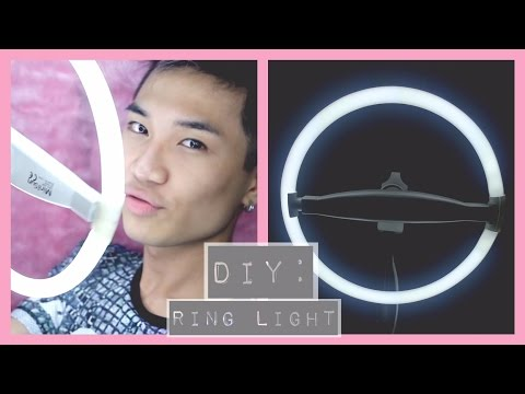 DIY: Ring Light for £10 ▷ Marc Zapanta