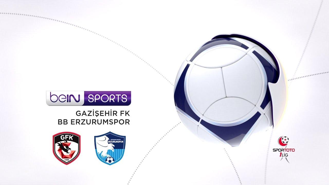 Gazişehir Gaziantep FK 4  - 5 BB Erzurumspor #Özet