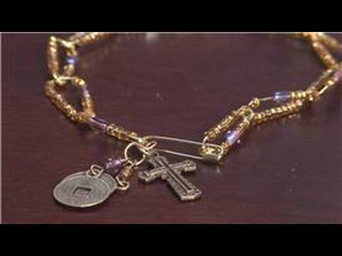Jewelry making with household items how to make safety for Safety pins for jewelry making