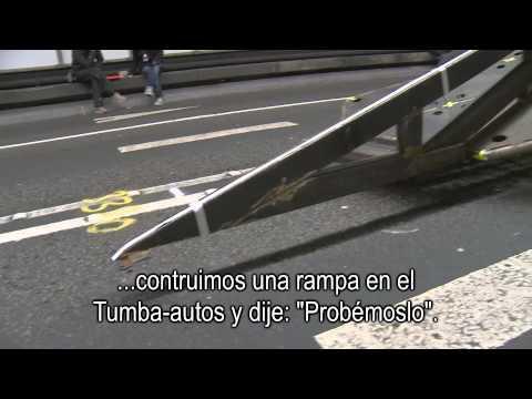 El Tumba-autos Rápidos y Furiosos 6 - Detrás de cámaras